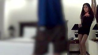 Fucking an Indonesian teen hooker on hidden camera
