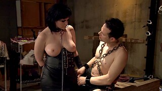 Slutty chick gets directed connected with and tortured by a medial stud